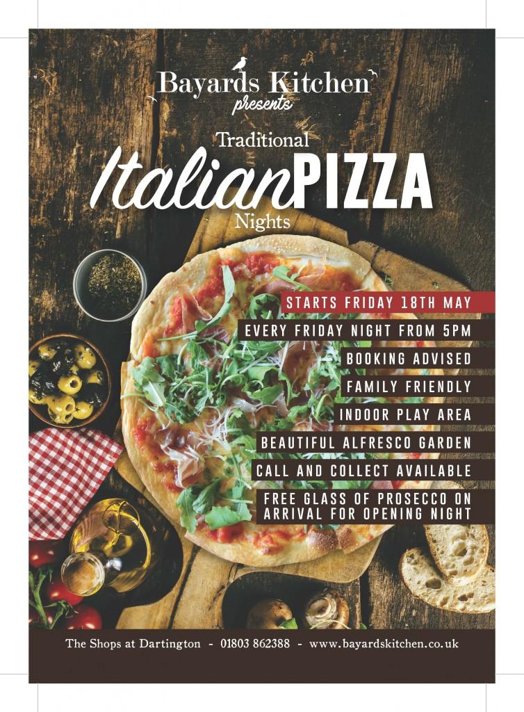 Bayards Kitchen_Pizza Night Menu Flyer